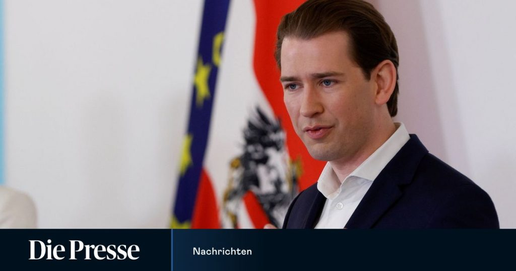 Kurz travels to the US - first trip outside Europe since the pandemic