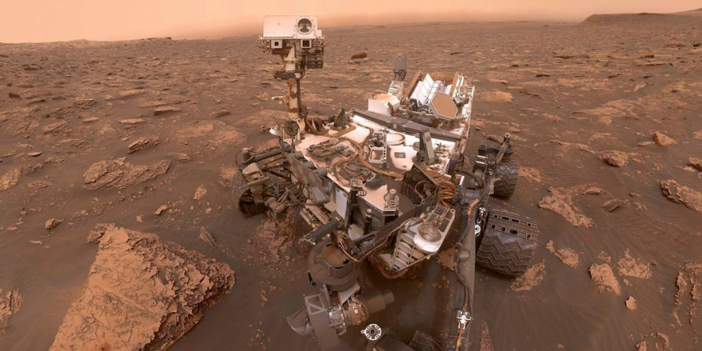 NASA's Perseverance Rover conducts its first autopilot around Mars