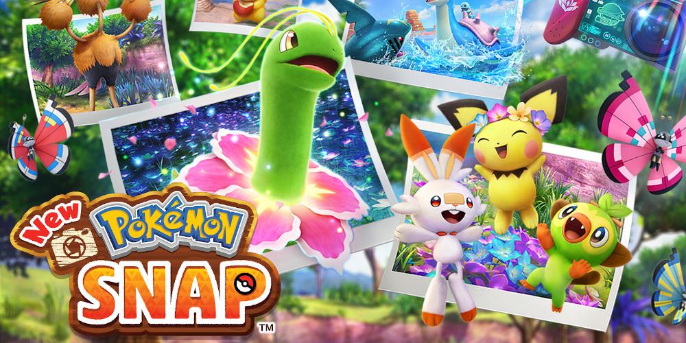 New Pokémon Snap - Mainart
