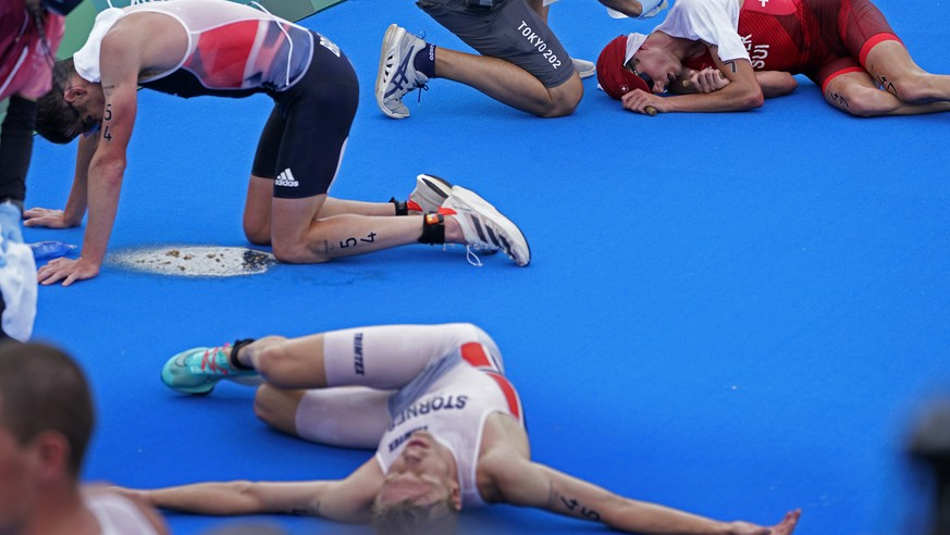 Olympia 2020: The most impressive photos of athletes' sufferingعان