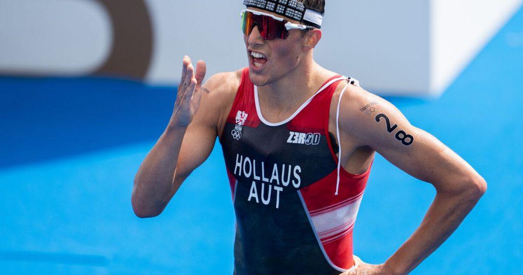 Olympic Triathlon: Lucas Hollos is 34
