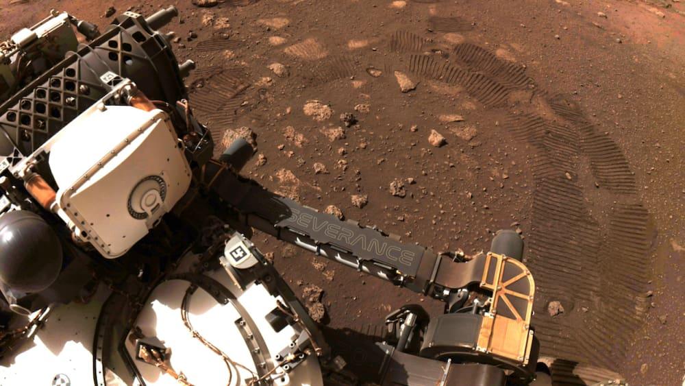 """Perseverance"" explores the sea on Mars"