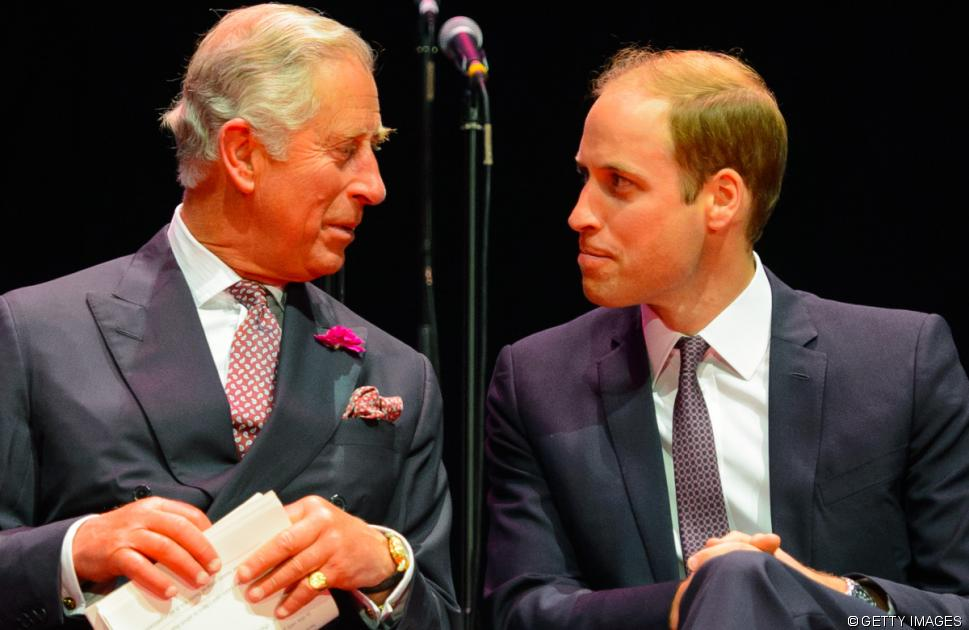 Prince Charles and Prince William: a dramatic makeover