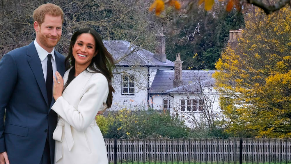Prince Harry and Duchess Meghan vacate Frogmore Country House