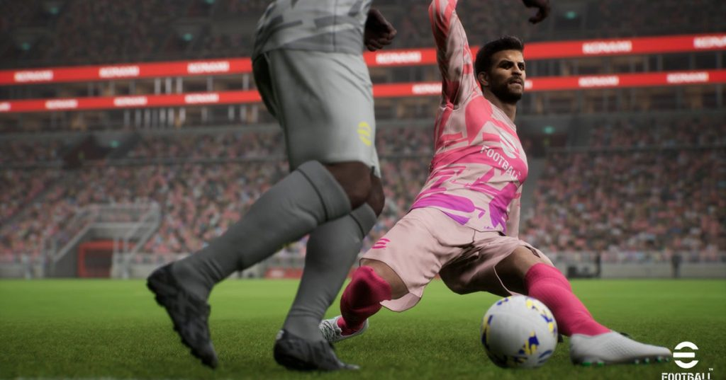 Pro Evolution Soccer was renamed eFootball when it was launched in 2021