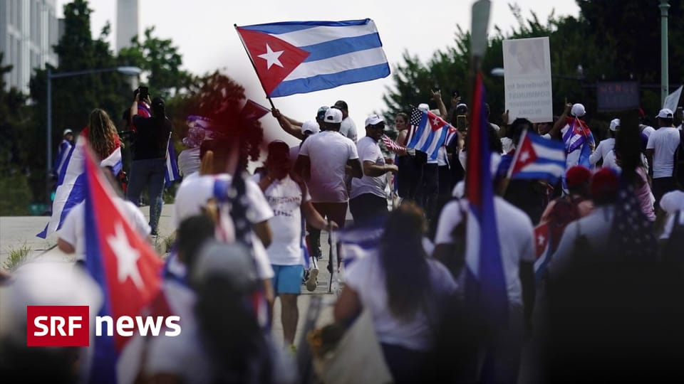 """Protests in Cuba - More US sanctions for """"grave human rights violations"""" - News"""