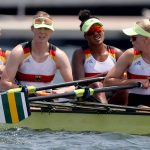 Rowing Olympia: Fifth Place in Women's Quad Rowing