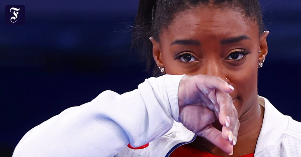 Simon Biles has received approval from the White House in the United States
