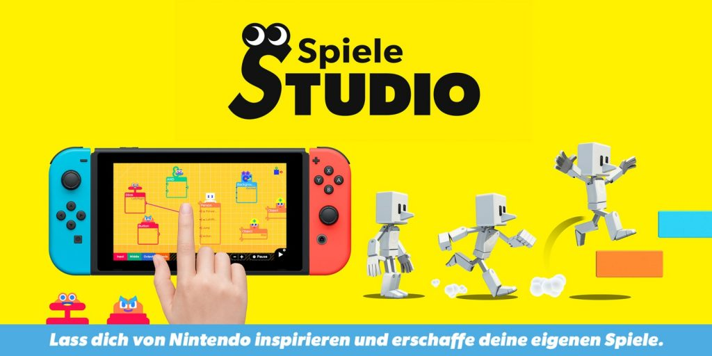 Sprint with the B button - download the new Game Studio mechanism • Nintendo Connect