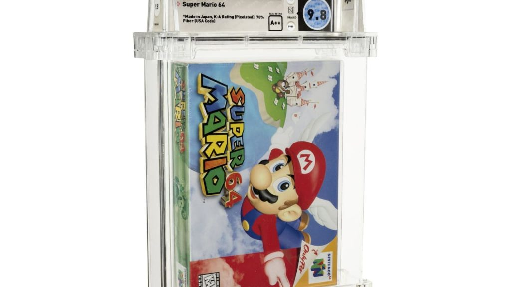 'Super Mario 64' sells for over $1 million - the most expensive game in the world    life and knowledge