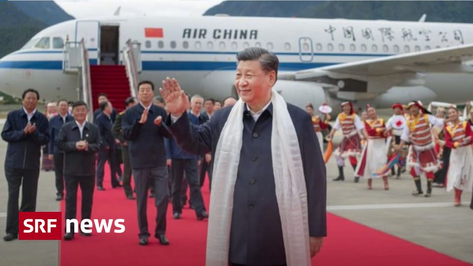 Surprise visit - the first by a Chinese head of state to Tibet since 1990 - News