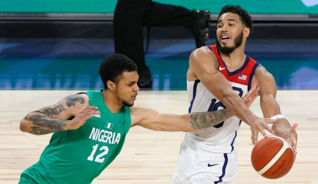 Team USA suffered a shock defeat against Nigeria