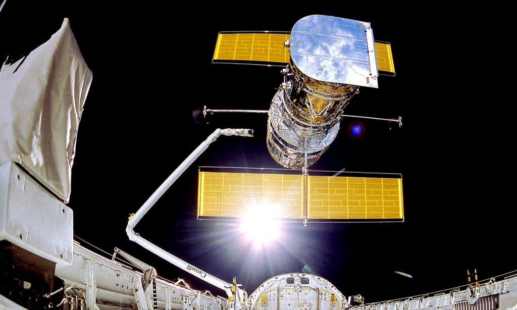 The last major action is to save the Hubble Space Telescope