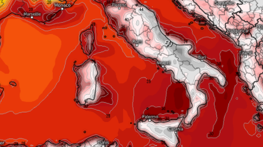 Weather: The next heat wave is heading towards Europe