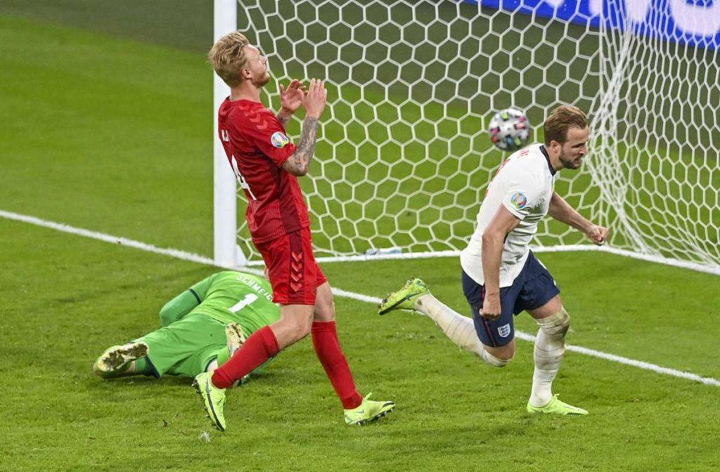 Dänemark unterlag  England im EM-Halbfinale. Foto: dpa/Justin Tallis