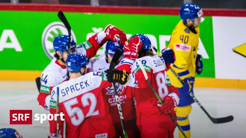 World Cup matches on Thursday - Czechs in the last third from 0: 2 to 4: 2 against Sweden - sports