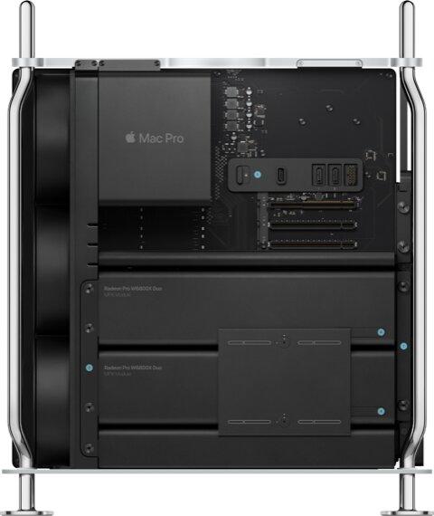 Mac Pro with two Radeon Pro W6800X Duo