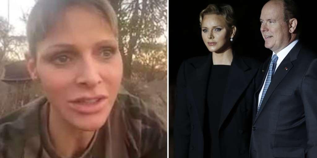 Princess Charlene of Monaco shocked by a new skinny video!