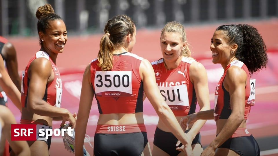 Before the final - the medal dream is still alive: the relay race is ready for the big sport of running