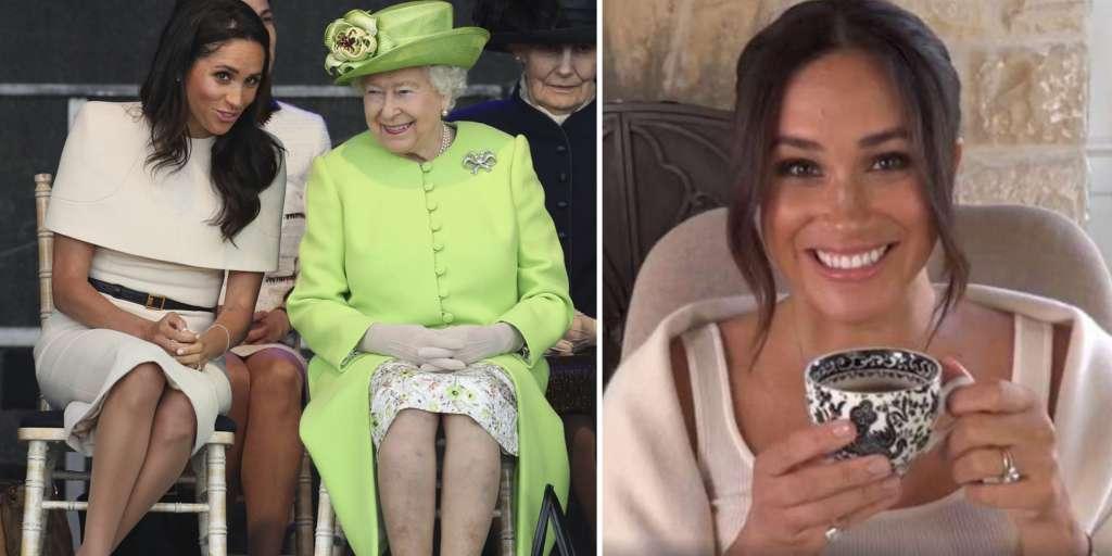 Did Queen Elizabeth hid in the congratulatory message Meghan?