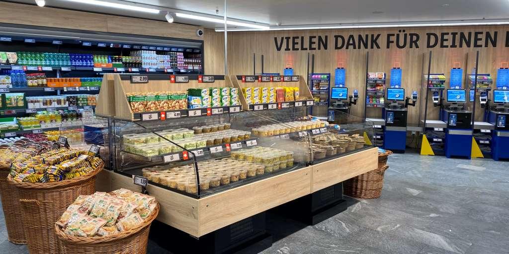 Aldi & Lidl is spread in Swiss cities