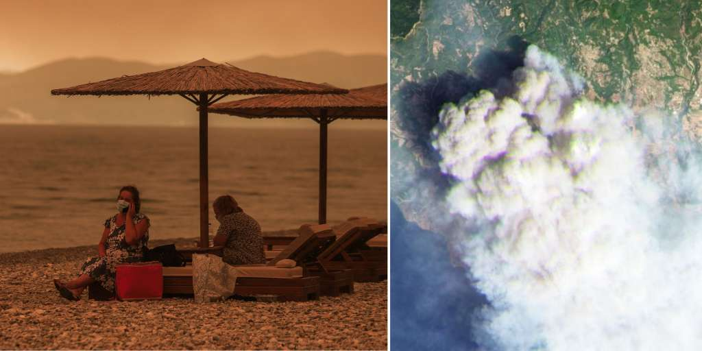 Fires are burning in southern Europe - the next heat wave is already coming