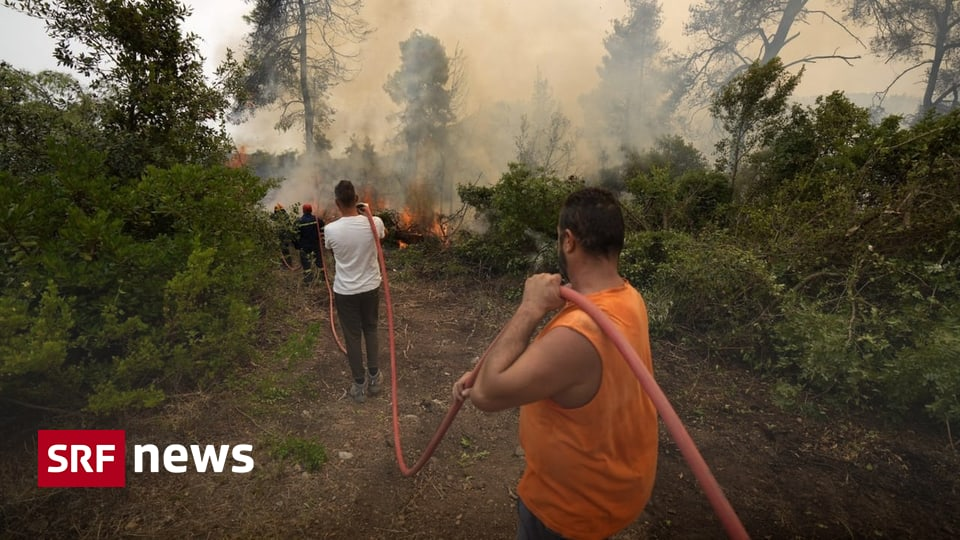 Turkey, Italy, Greece - Volunteers fight fire with firefighters - News