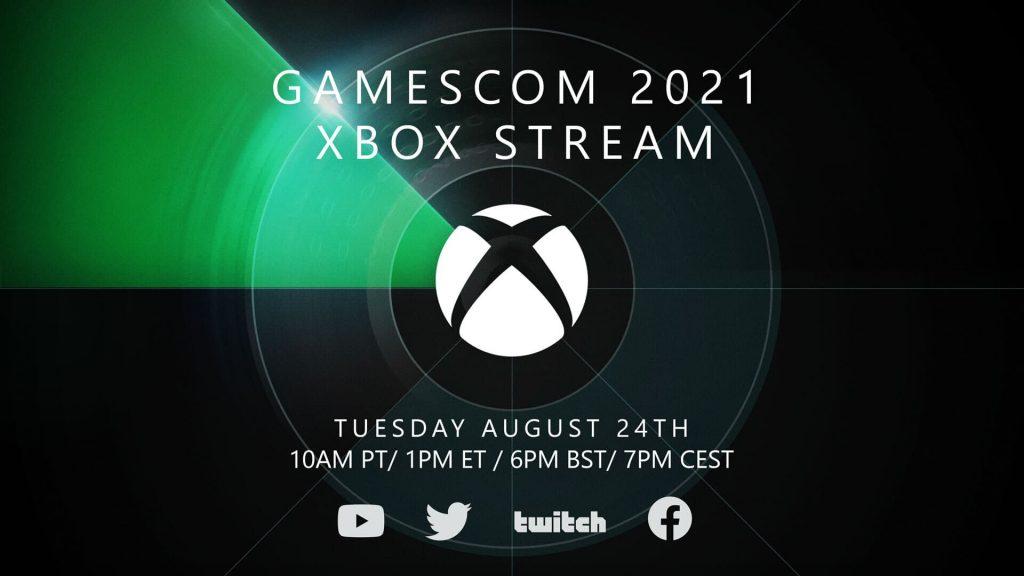 Listen to gamescom 2021 Xbox Stream