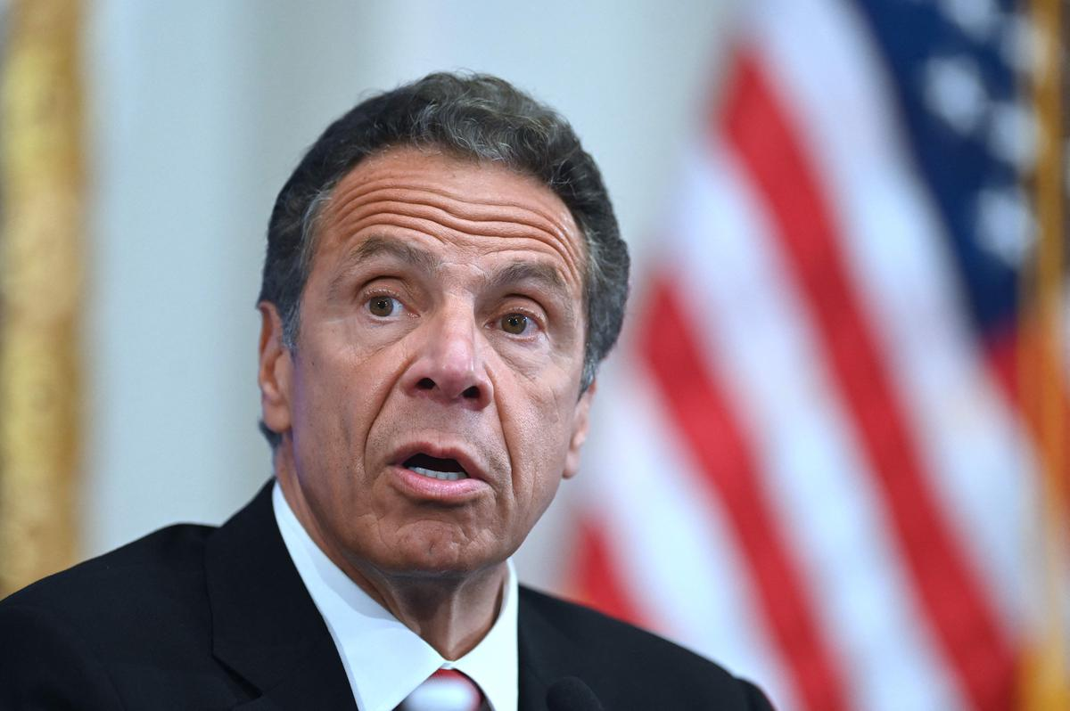 Andrew Cuomo resigns as governor of New York on sexual harassment charges.  For the first time, a woman holds office in the state.