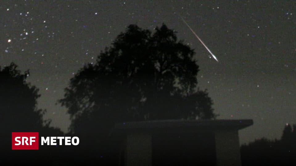 The time of the Perseids - Attention: The approach of the stars of the meteor - meteorology