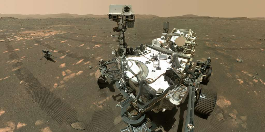 The 'perseverance' rover cannot collect rock samples from Mars
