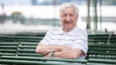 Former FCL president Romano Simeone remains an energetic, energetic man with a vigilant mind at the age of 86. (Photo: Patrick Herlimann (Lucerne, July 31, 2021))