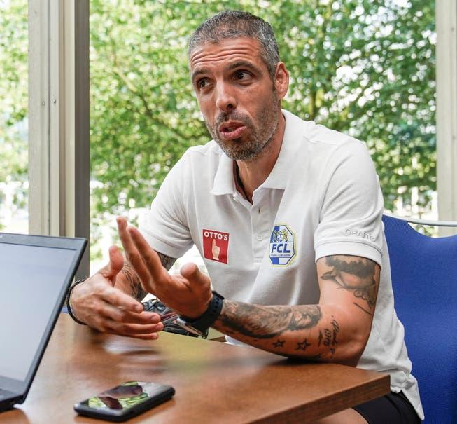At the team hotel, FCL coach Fabio Celestini answered...