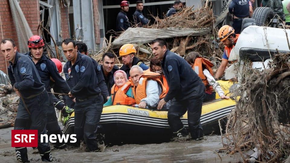 Black Sea Region - More than 20 dead in floods in Turkey - News