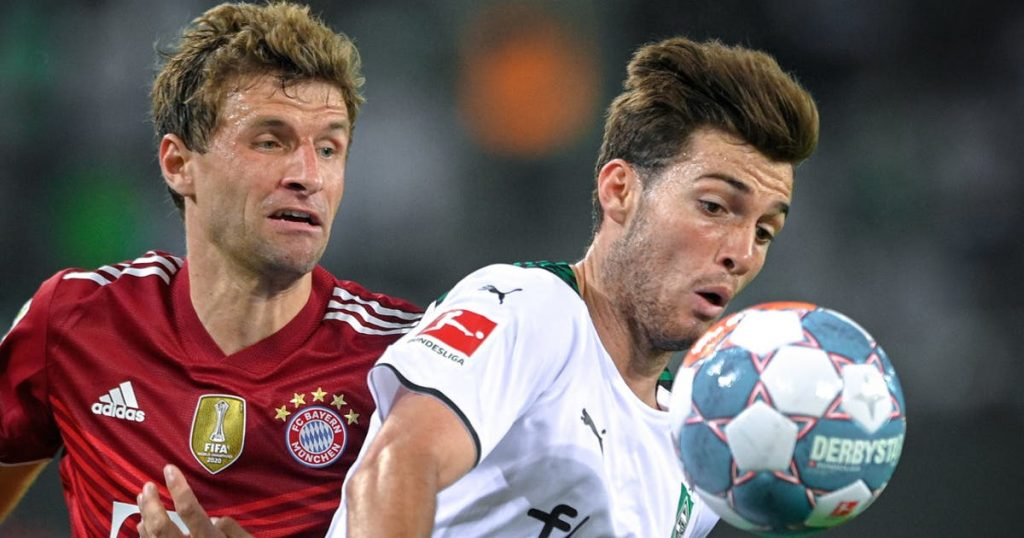 Gladbach and Bavaria share the points