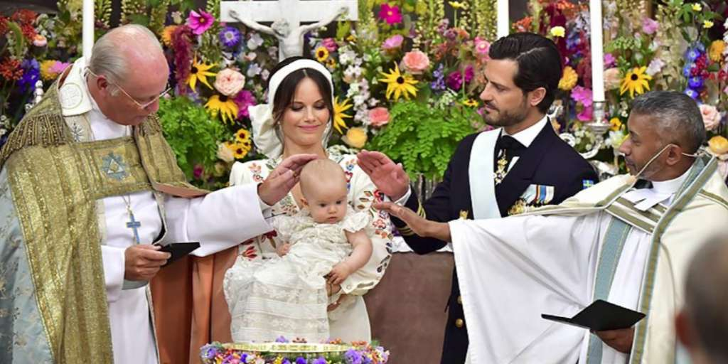 Dean of Sweden's youngest prince Julian