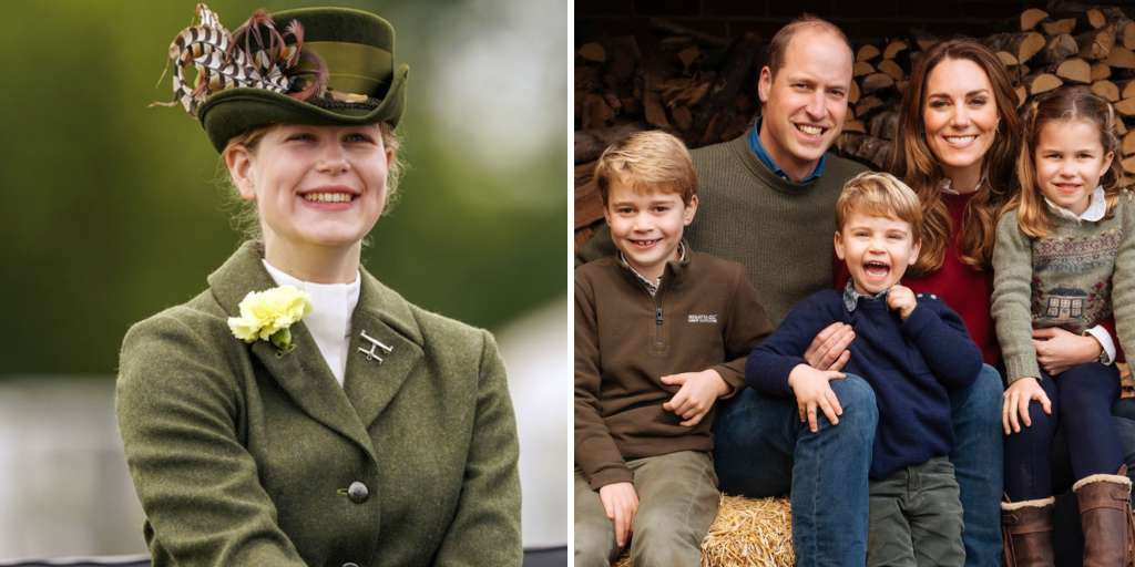Queen's granddaughter (17 years old) takes care of Kate and Williams' children