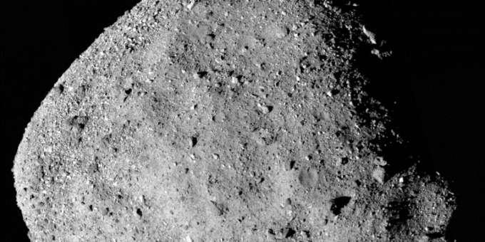 asteroid Bennu erde