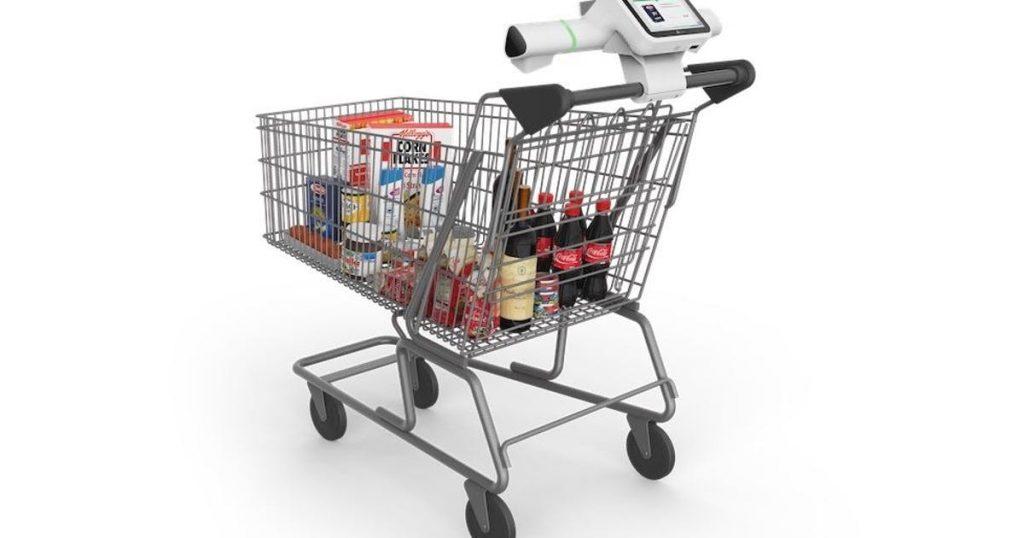 Smart shopping carts make waiting in line at checkout redundant