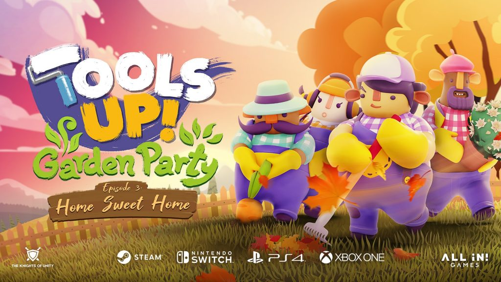 The final fall episode of Tools Up!  Garden Party, couch co-op DLC, ready to harvest