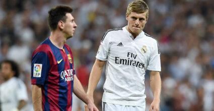 Toni Kroos Lionel Messi