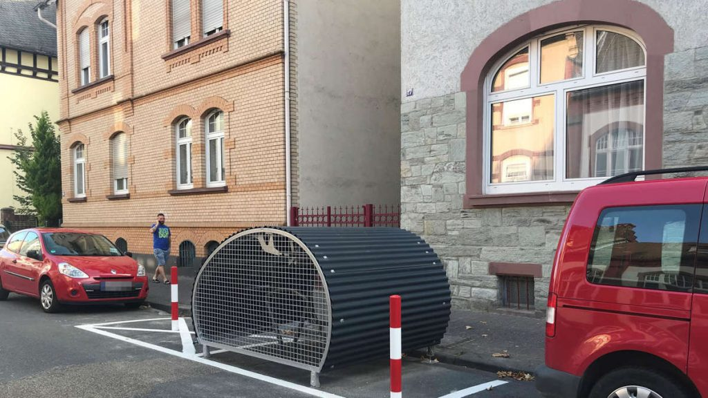 Frankfurt: There is less and less space for cars on the streets