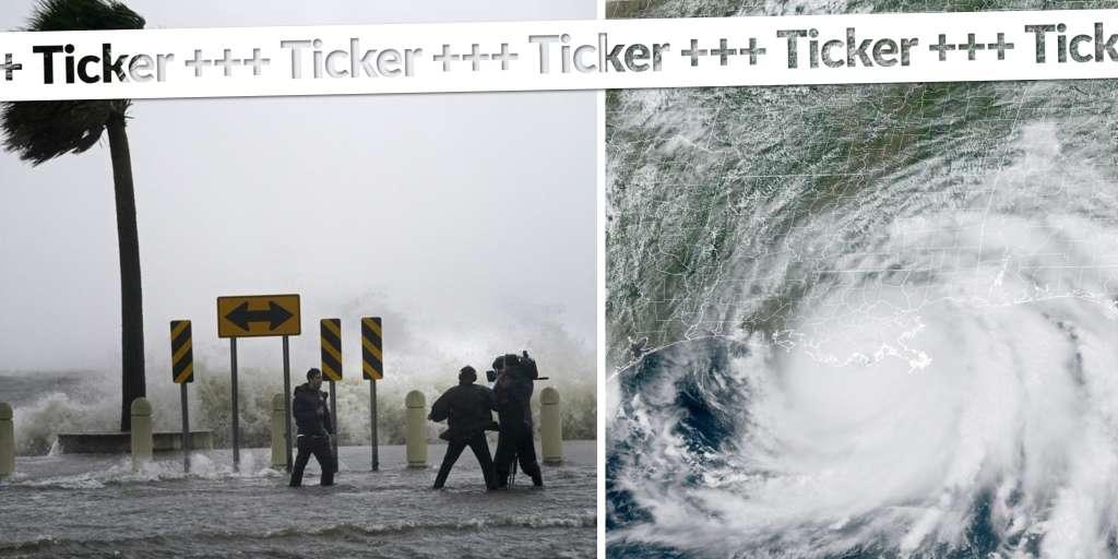 Hurricane Ida made landfall in Louisiana, USA