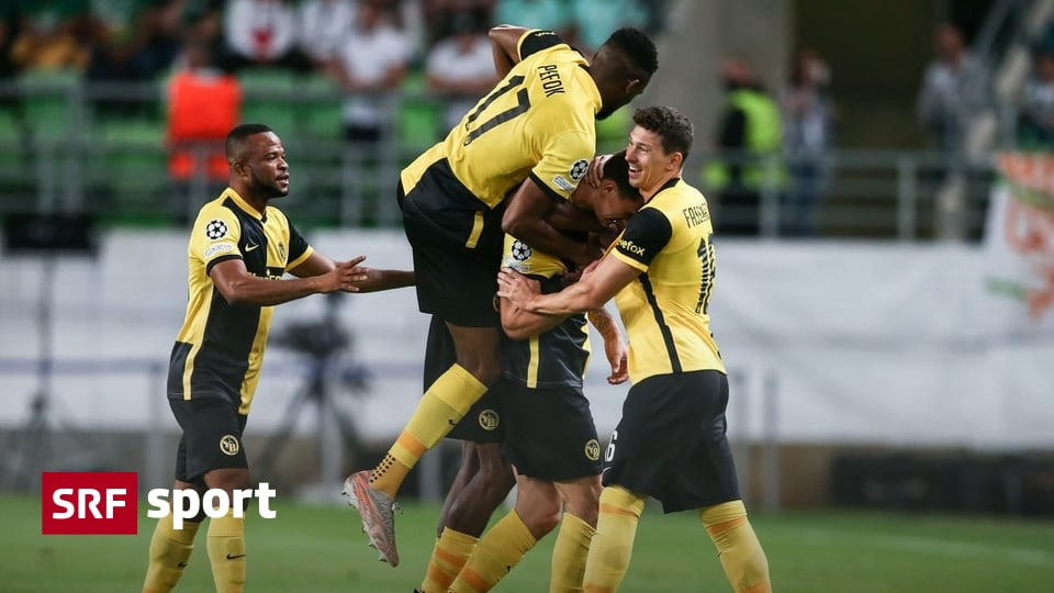 3-2 win in the second leg - YB achieves the dream of the Champions League - Sports