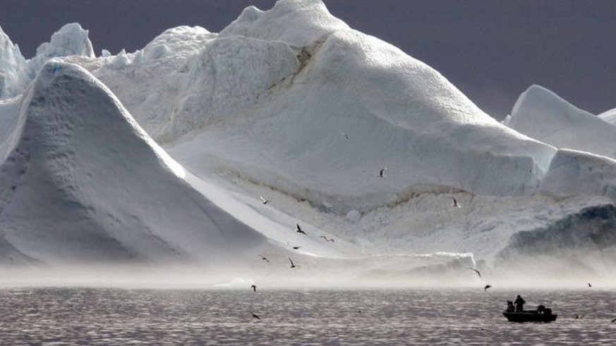 A Swiss woman may discover the northernmost island in the world