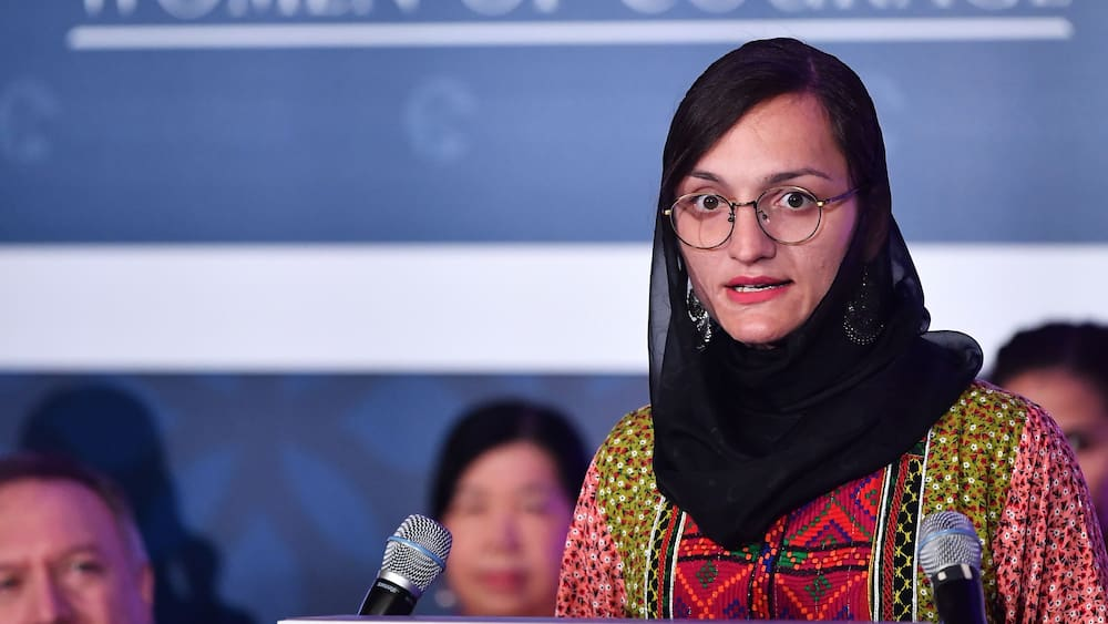 An Afghan mayor (27) fears for her life