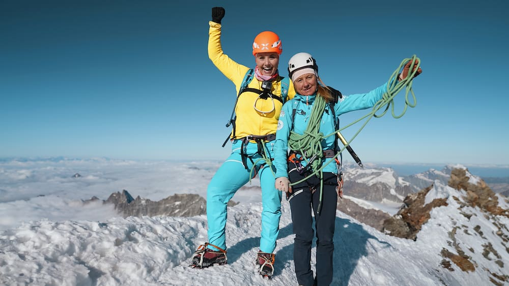 Beatrice Egli almost fell back twice when she climbed the Matterhorn