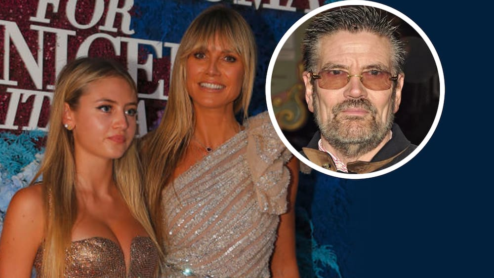 Did Lenny Klum also break up with her grandfather Gunther because of Heidi?