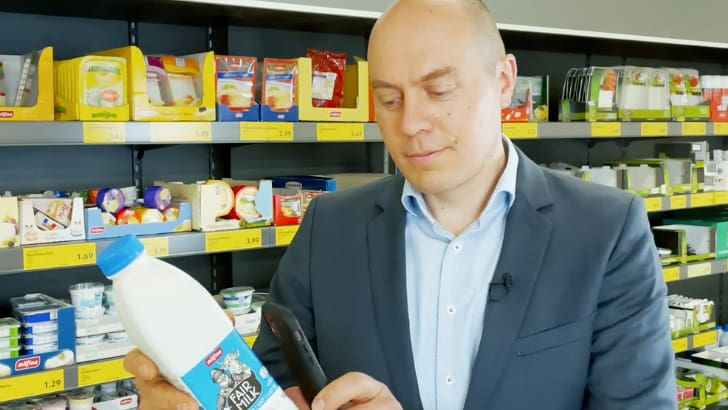 Discounter does the Scan & Go self-scan test in 17 branches
