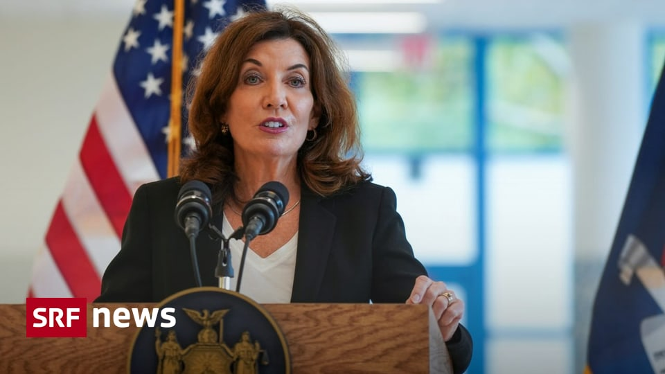 Kathy Hoshol appoints first woman governor of New York - News